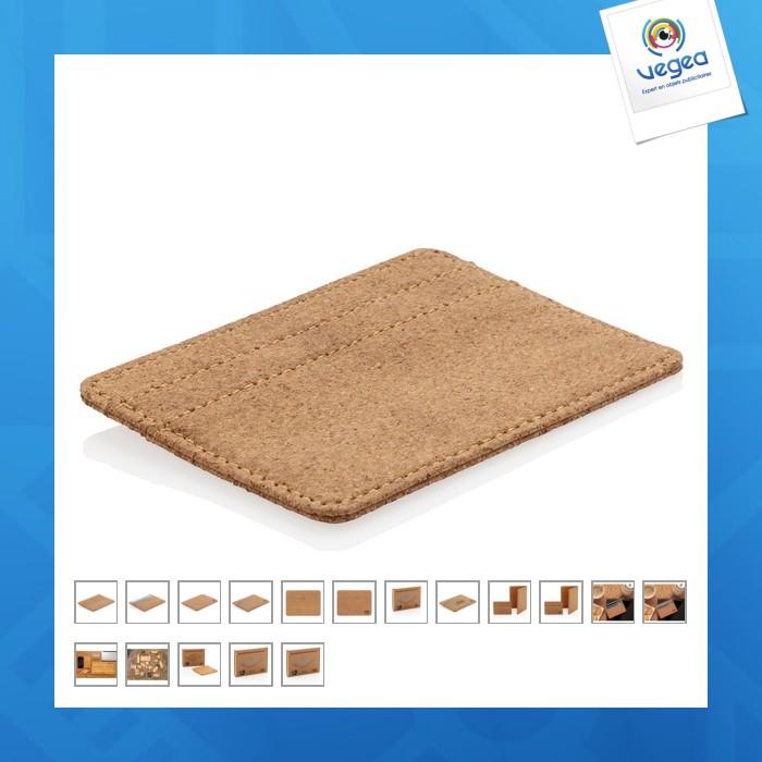 Corcho anti antideslizante de la tarjeta