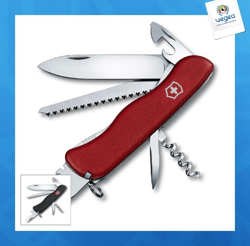 Couteau suisse victorinox publicitaire  forester