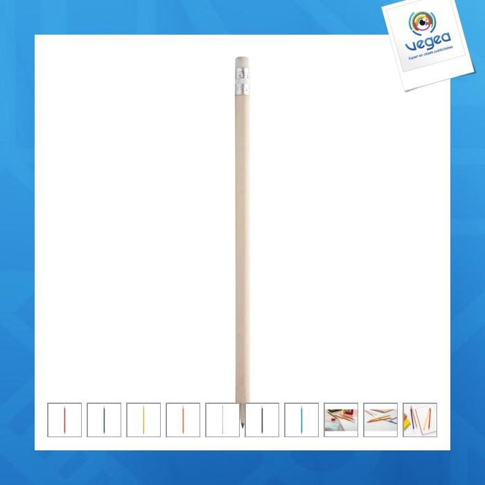 Crayon à papier personnalisé couleur