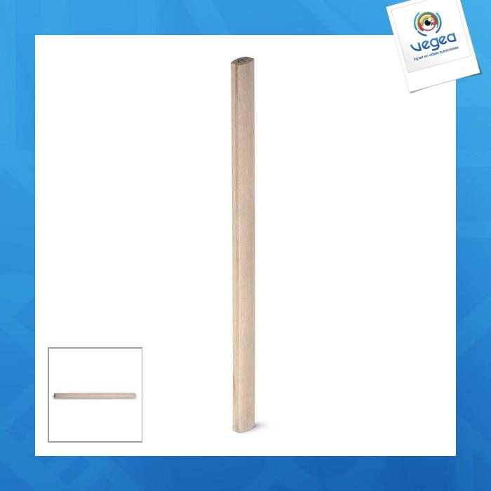 Crayon de charpentier personnalisable naturel
