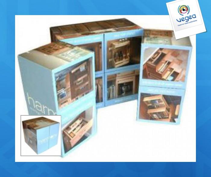 Cube magique 7 cm / puzzle magique 9 faces
