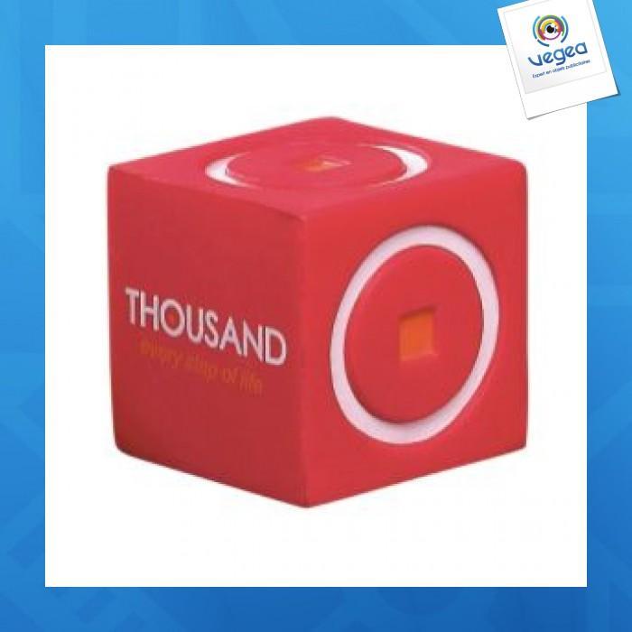 Cubo Objeto de espuma para aliviar el estrés