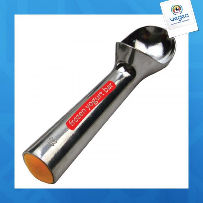 Cuillère à glace personnalisable en métal