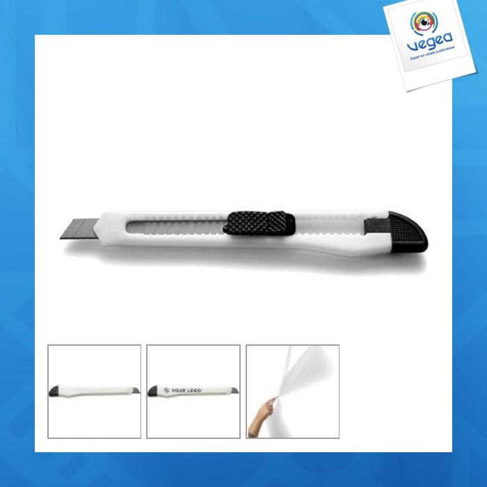 Cutter logoté - etroit : largeur 1,1 cm