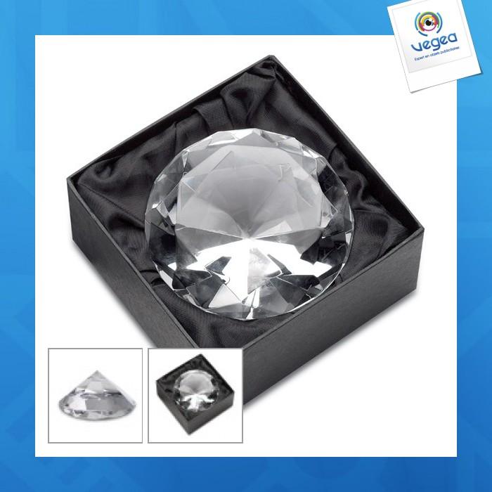 Diamant (presse-papiers) reflects-cornella 10cm