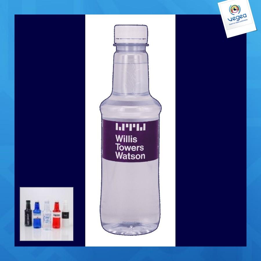 Diseño de la botella de agua 33cl