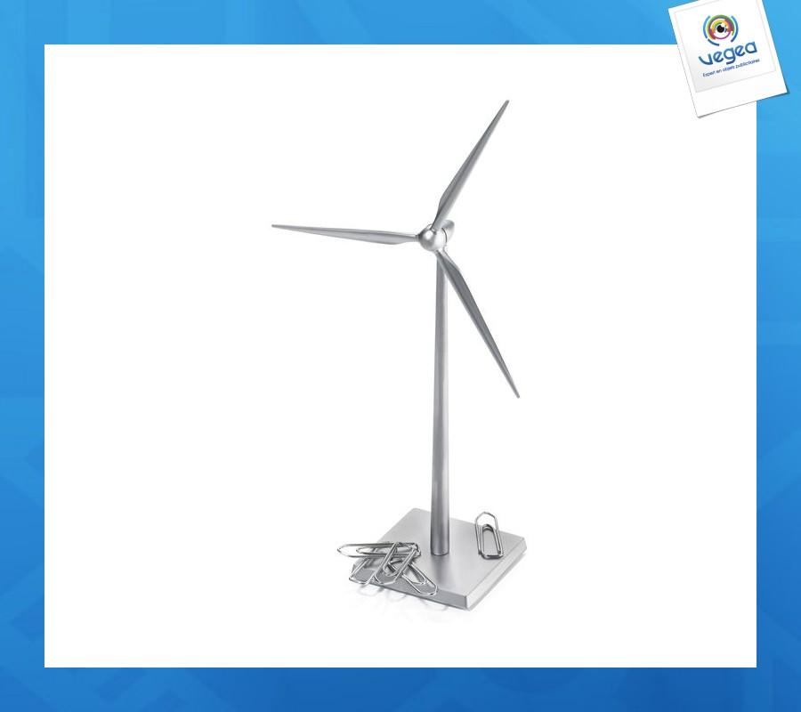 Distributeur trombones presse-papiers éolienne