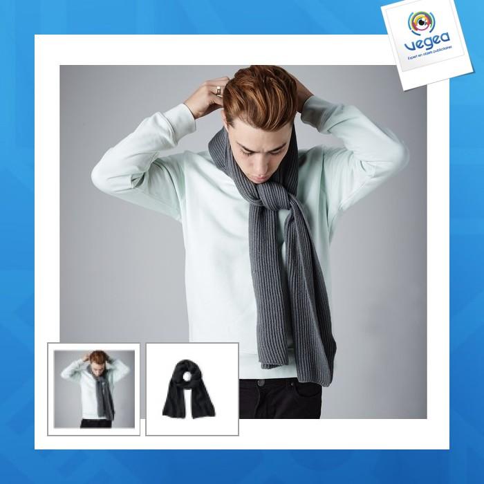 Écharpe personnalisable tricot beechfield