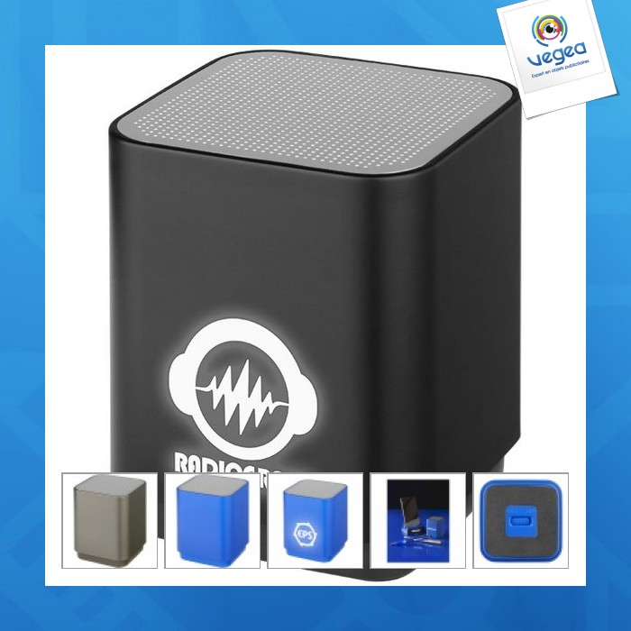 Enceinte personnalisable  lumineuse bluetooth