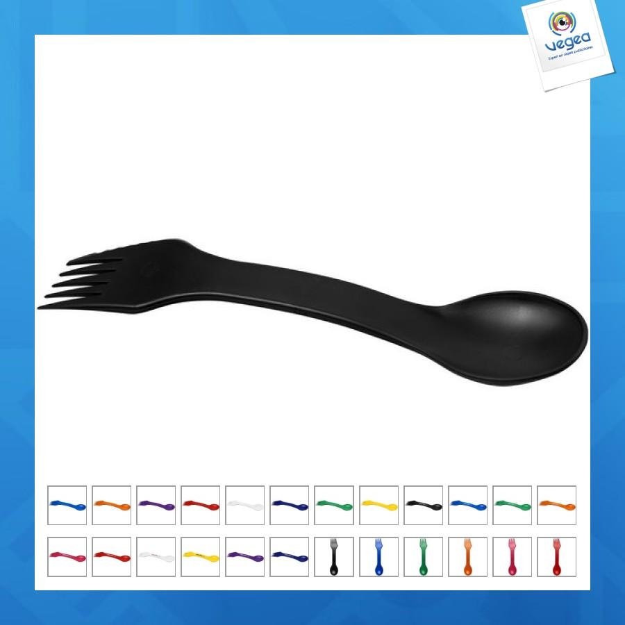 Ensemble 3-en-1 cuillère fourchette et couteau