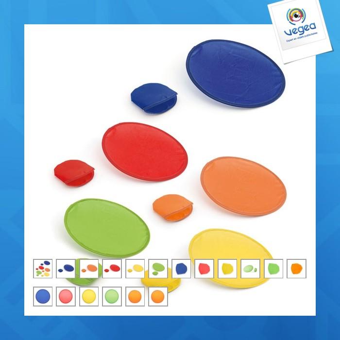 Frisbee avec personnalisation  pliable