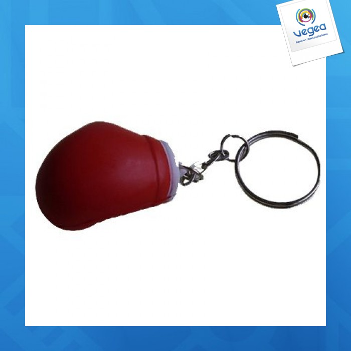 Gant de boxe porte cl s personnalisable 01377v0040484 partir de 0 89 euros ht - Objet anti stress bureau ...