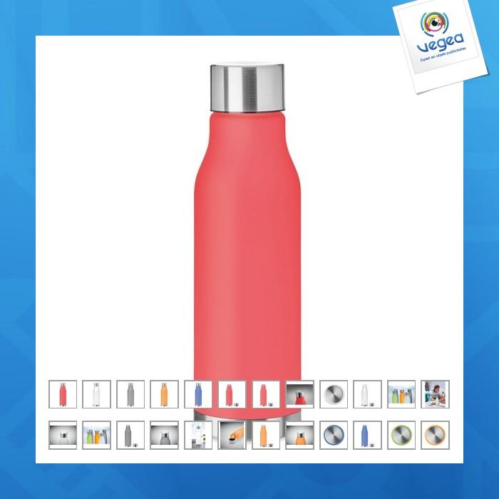 Glacier rpet - bouteille personnalisable en rpet 600ml