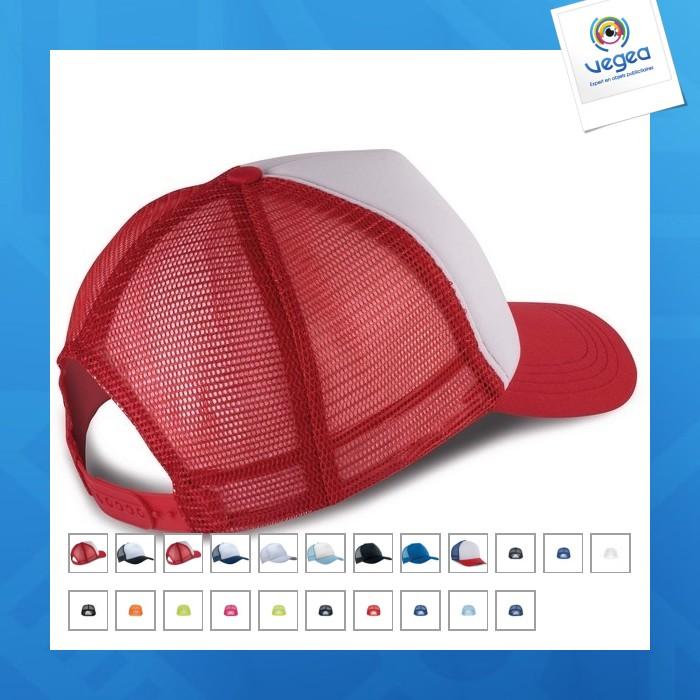 Gorra de camionero de 5 paneles