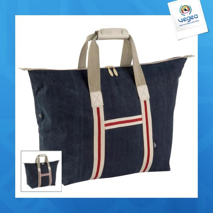 Grand sac shopping canvas