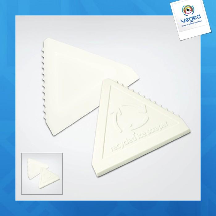 Grattoir personnalisable triangulaire recyclé