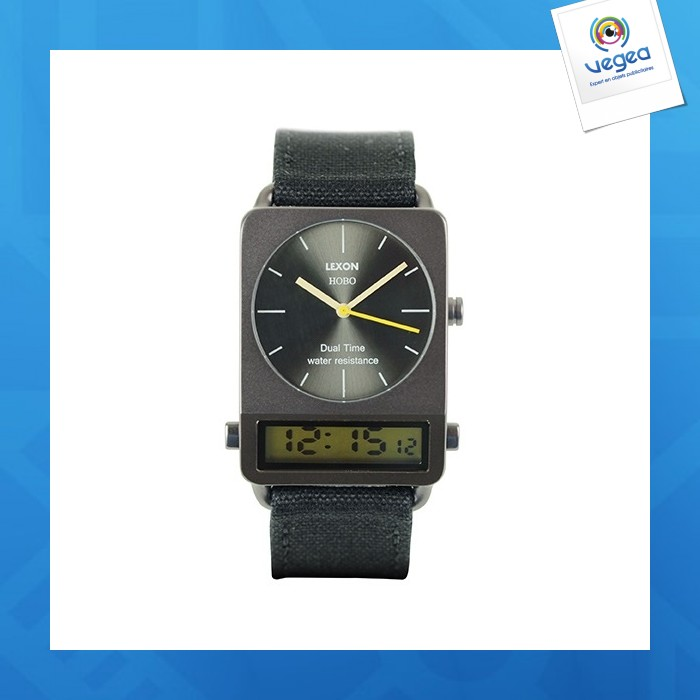 Hobo watch montre analogique & digitale