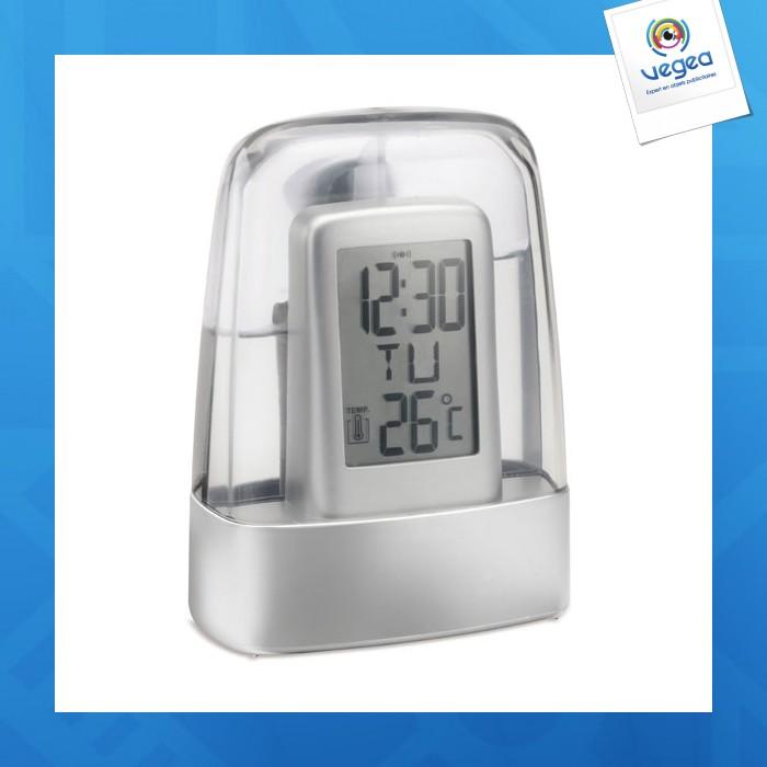 Horloge avec personnalisation  à mécanisme à eau reflects-carpentras