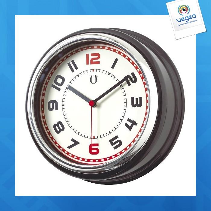 Horloge murale personnalisable country