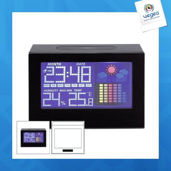 Horloge personnalisée de bureau colour
