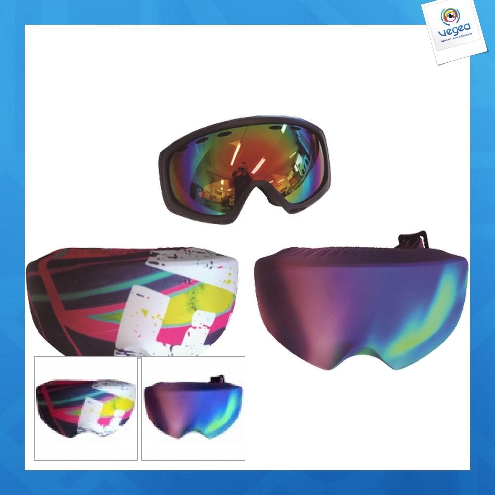 Housse de masque de ski personnalisé