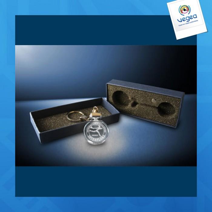 Keychain luminous laser engraving