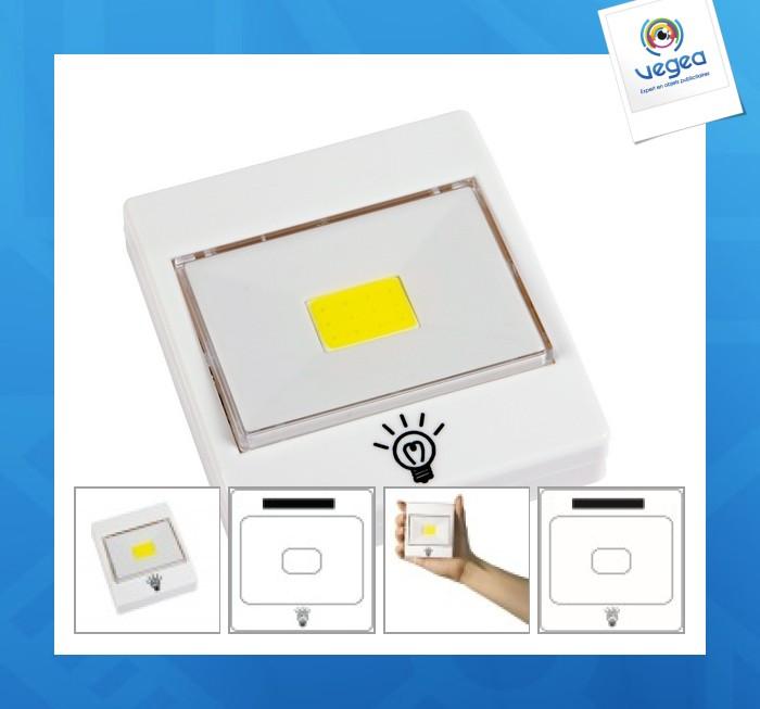 Lampe personnalisable del switch it