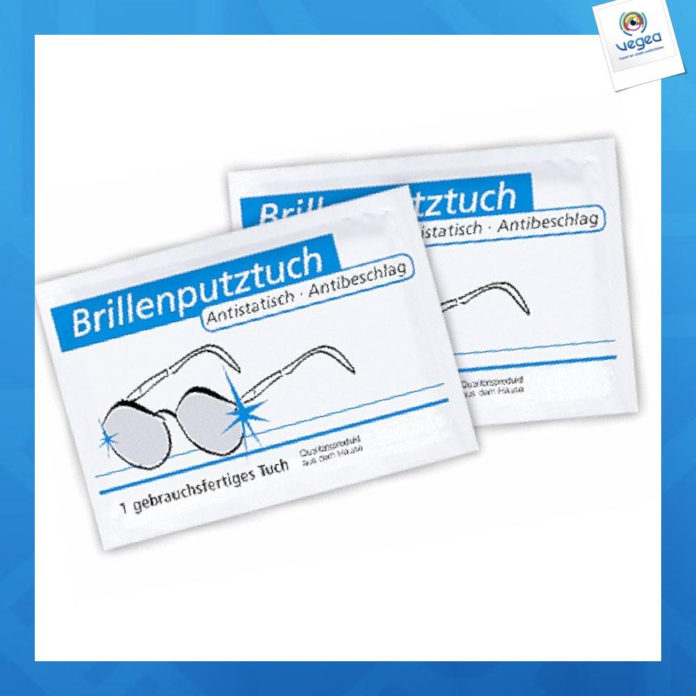 Lingette nettoie lunettes