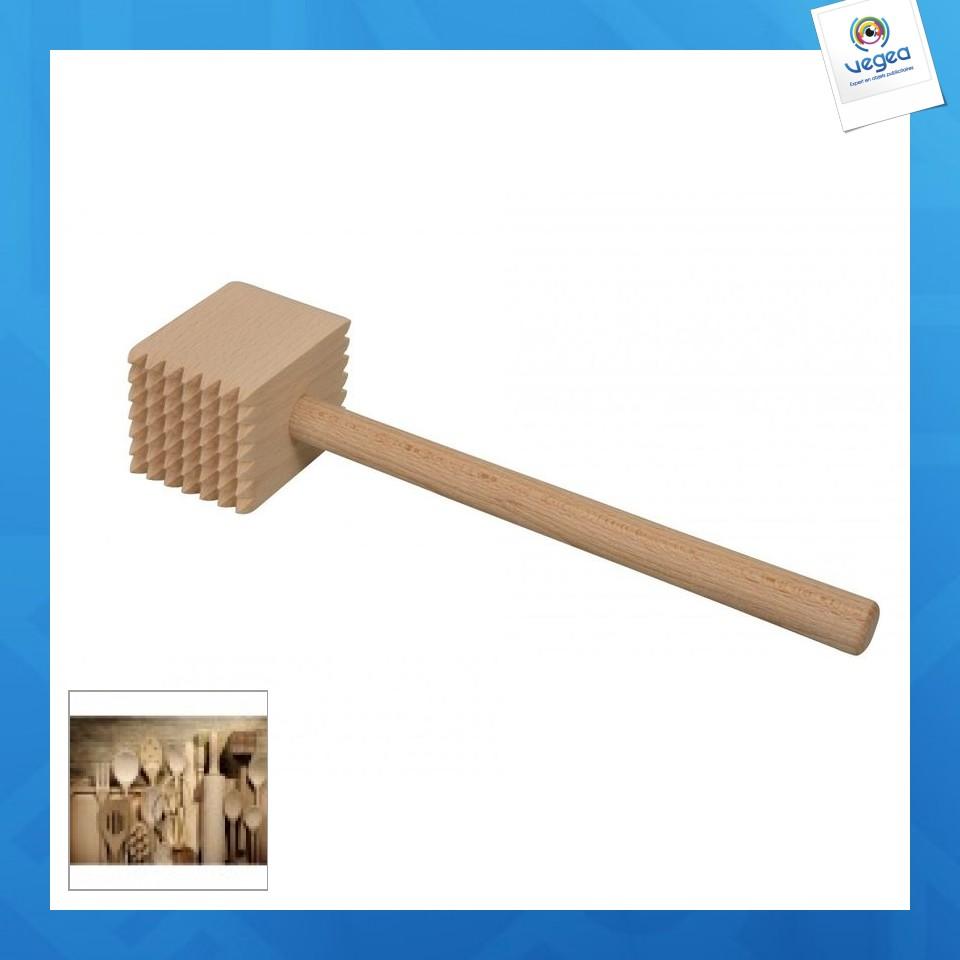 Maillet à viande en bois
