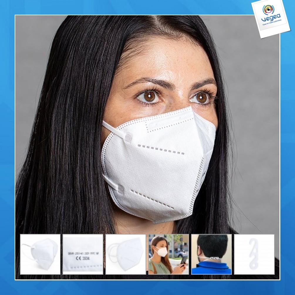 Máscara protectora ffp2 - en stock