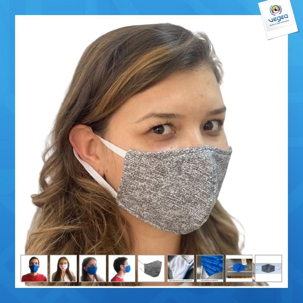 Masque alternatif en tissu (coupe ajustée)