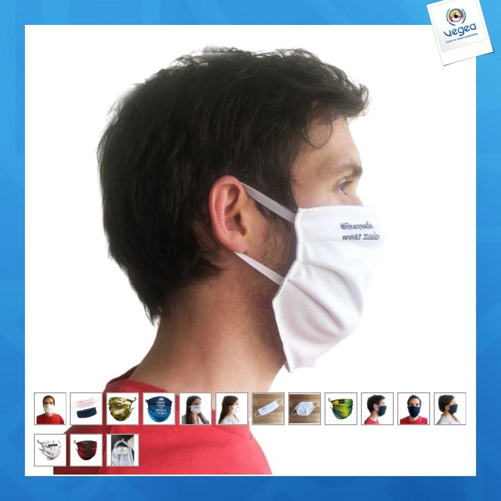 Masque alternatif en tissu (grande taille)