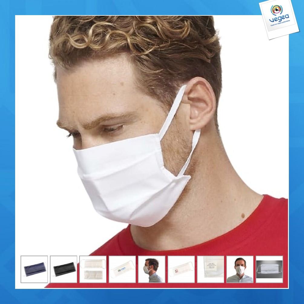 Masque lavable certifié uns1