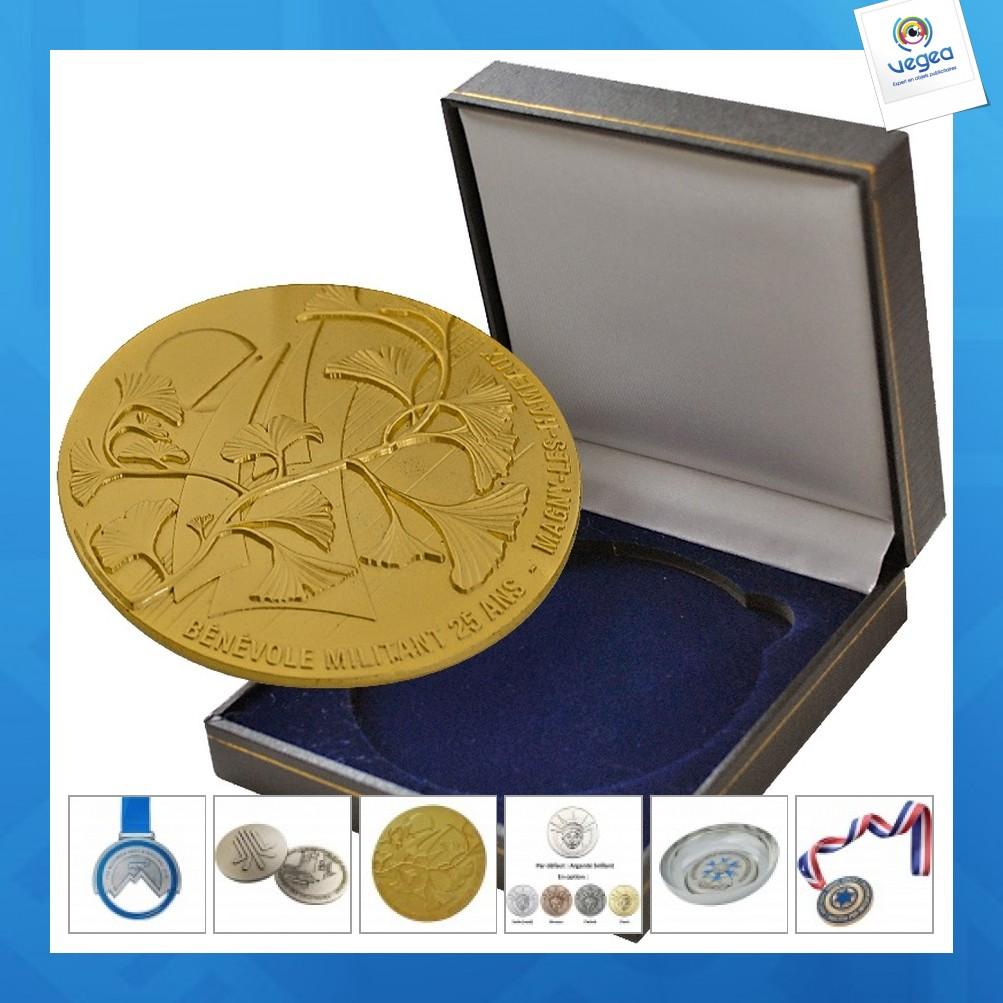 Médaille personnalisable du travail