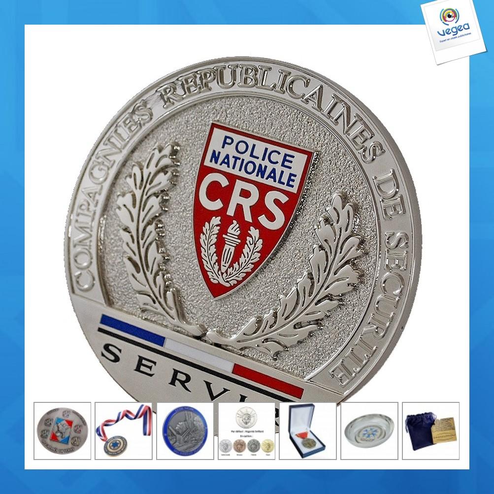 Médaille publicitaire militaire