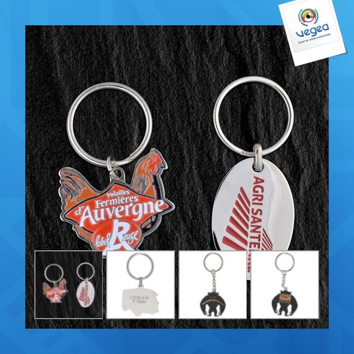 Metal key ring eco