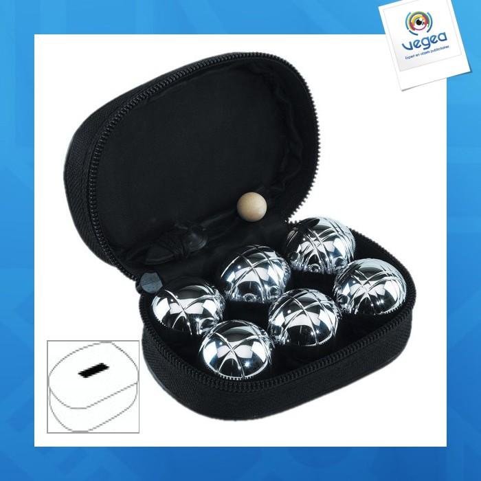 mini jeu de boules personnalisable 00013v0012315 partir de 4 39 euros ht. Black Bedroom Furniture Sets. Home Design Ideas