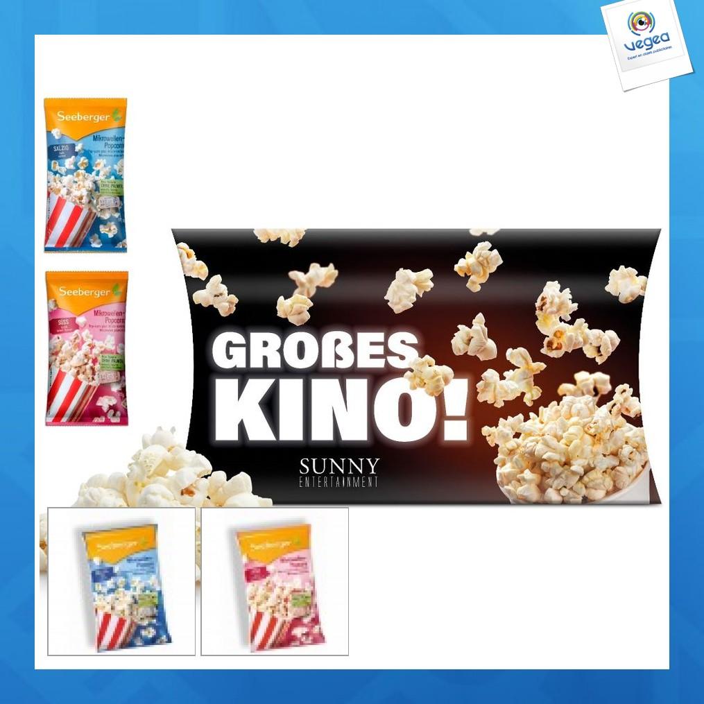 Mini popcorn micro-ondes