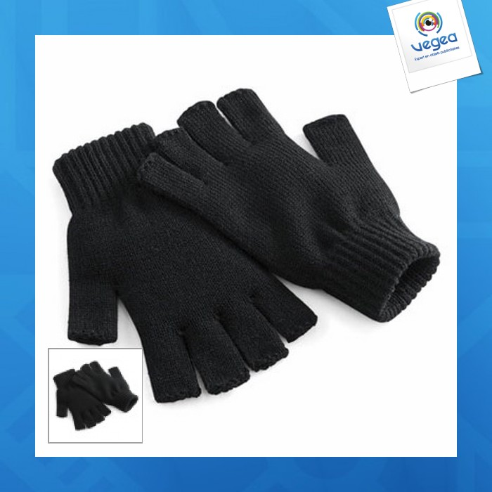 Mitaines publicitaires  - fingerless gloves