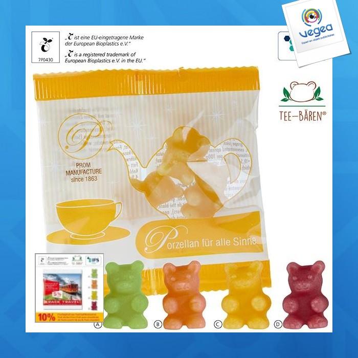 Oursons-tisane® en sachet compostable