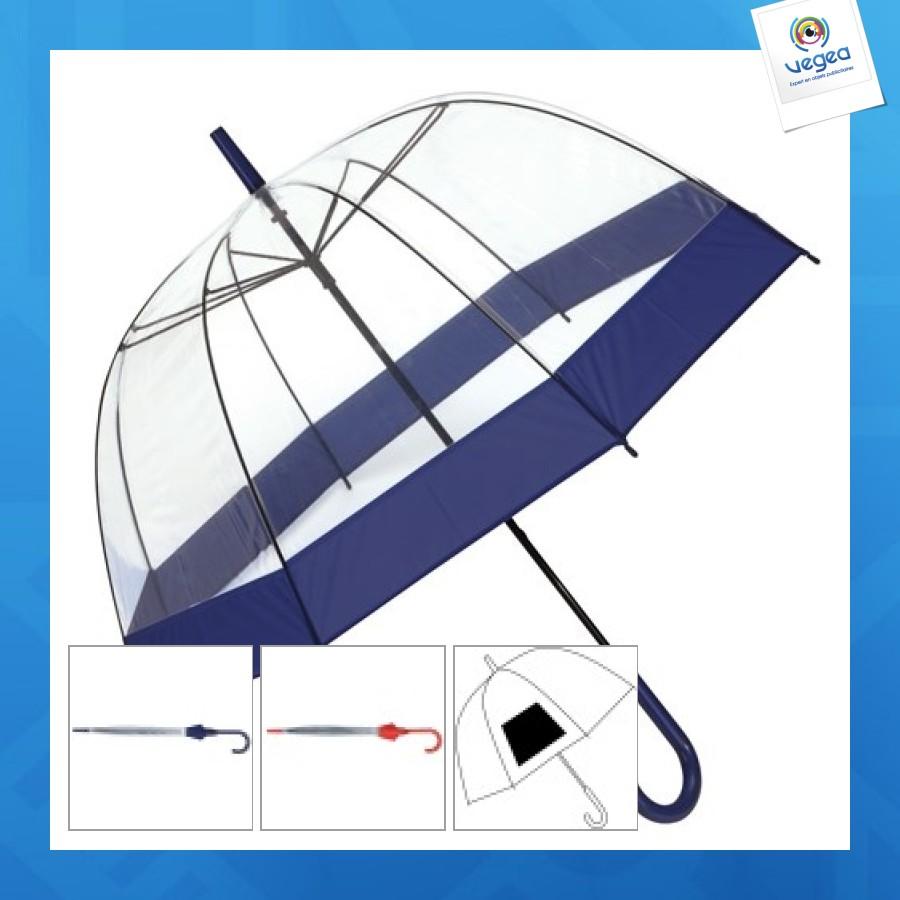 Paraguas de campana de promoción de luna de miel