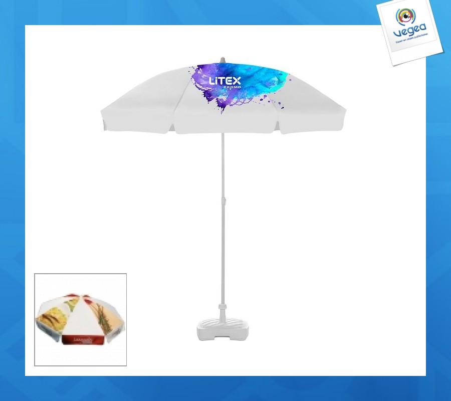 Paraguas redondo de 2m
