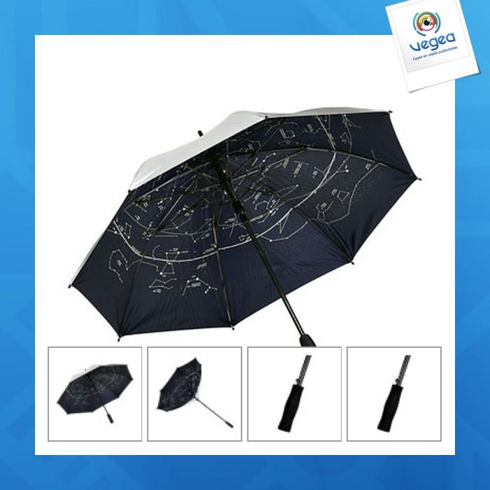 Parapluie anti-vent automatique spécial tempête