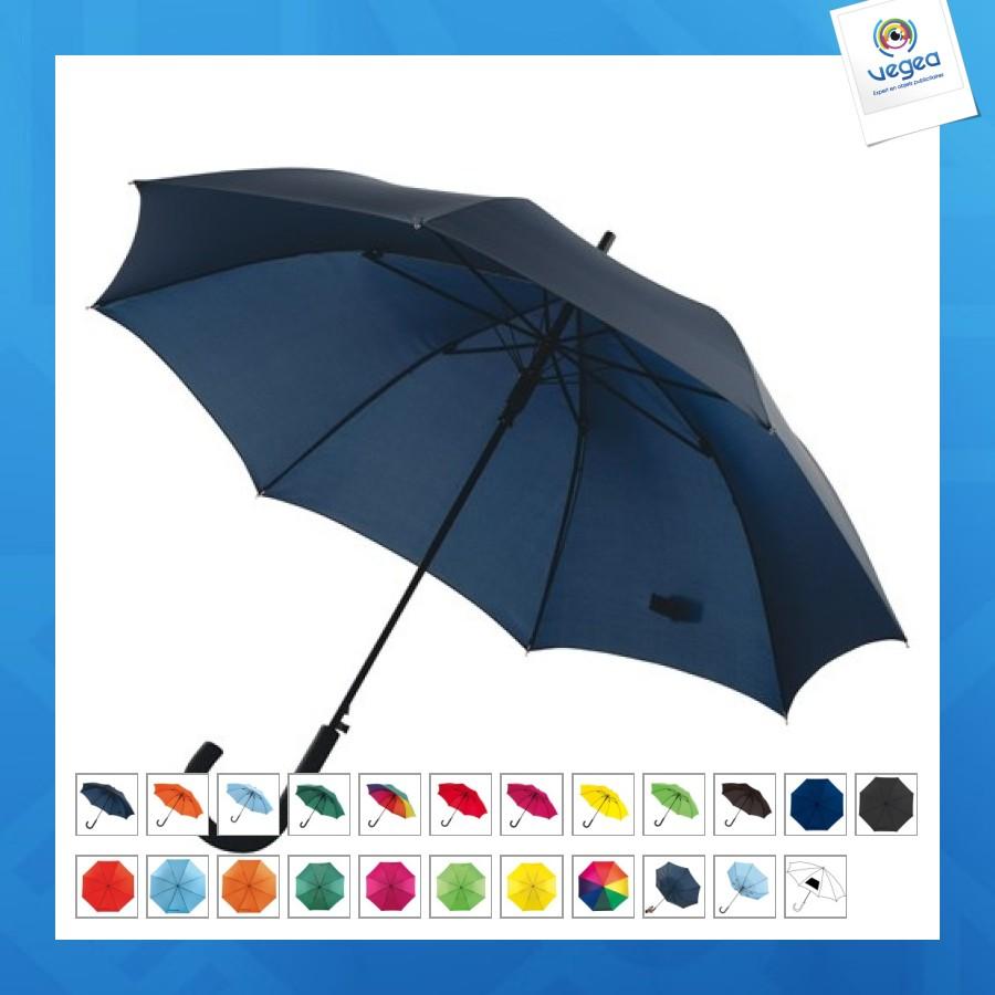 Parapluie personnalisé automatique avec poignée courbée