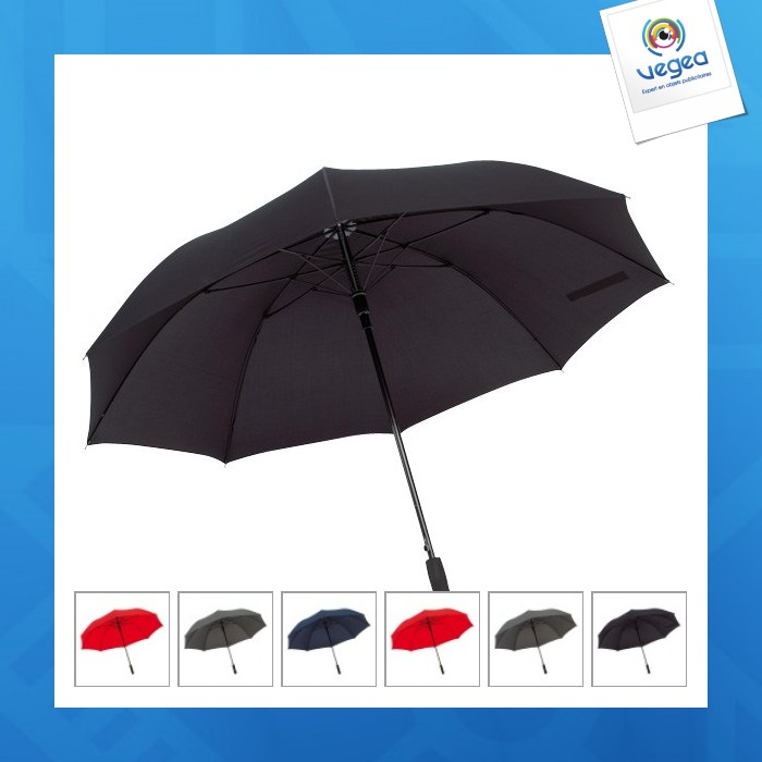 Parapluie golf logoté automatique avec poignée en mousse eva