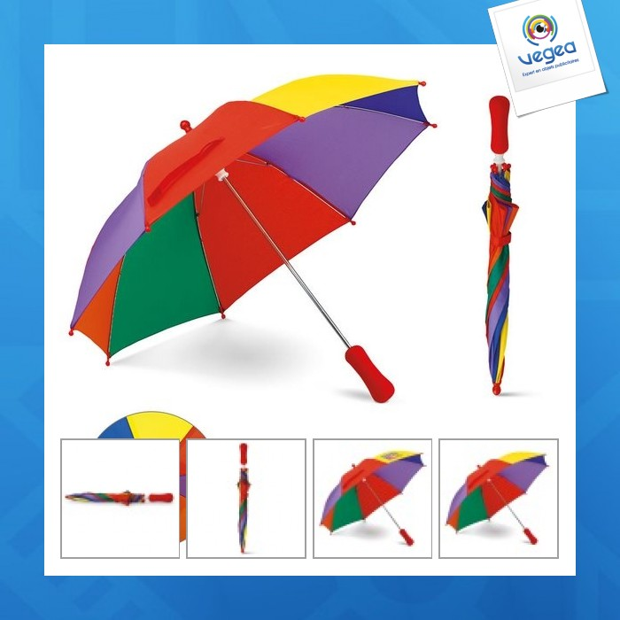 Parapluie multicolore enfant