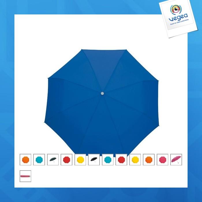 Parapluie personnalisable de poche twist avec dragonne