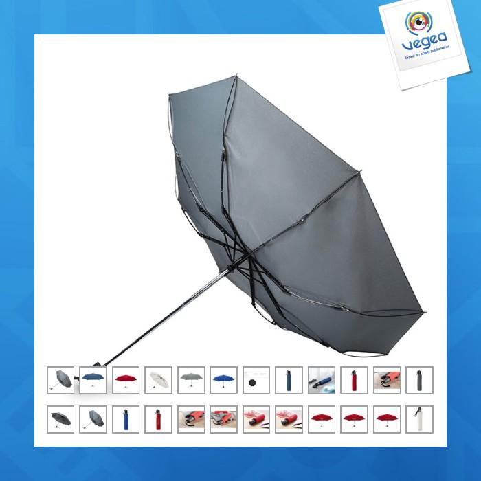 Parapluie publicitaire tempête automatique