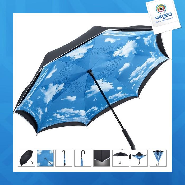 Parapluie standard fare inversé