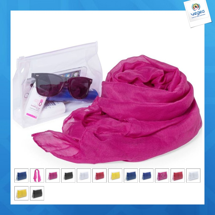 Pareo personnalisé foulard rosix